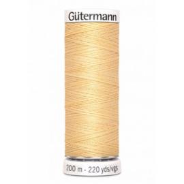 Gutermann alles naaigaren Licht Geel  003 / 3 / 200 meter