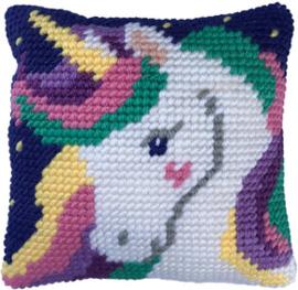 Kussen borduurpakket Star Light Unicorn - Needleart World  nw-lh03-00