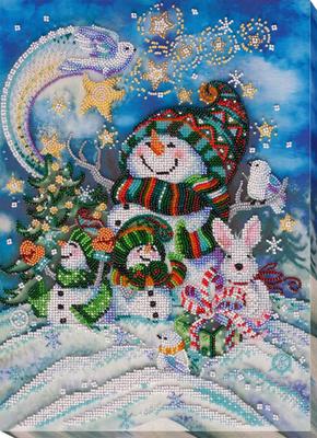 Kralen borduurpakket New Year's Night - Abris Art    aa-ab-650