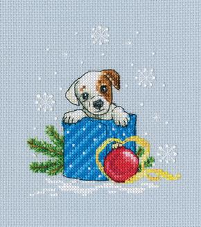 Borduurpakket Give me a Puppy! - RTO    rto-c298