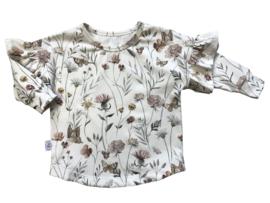 Ruffleshirt flowers & butterflies