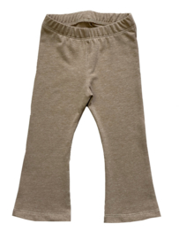 (Flaired) legging beige