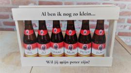 Gepersonaliseerd kratje bier - Jupiler