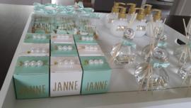 Doopsuiker JANNE - Goud & munt