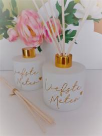 Parfumfles voor de liefste meter