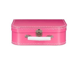 Koffertje met naam - roze