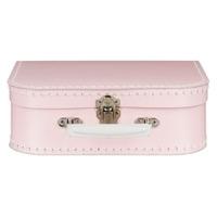 Koffertje met naam - licht roze