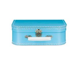 Koffertje met naam - blauw