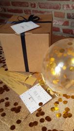DIY Ballon met een speciale boodschap - Wil jij mijn meter/peter zijn?