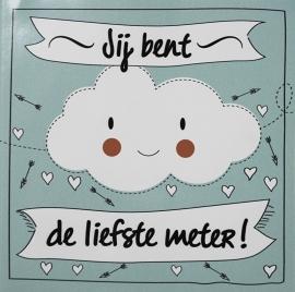 Sticker Voor meter/peter -  Funny Clouds