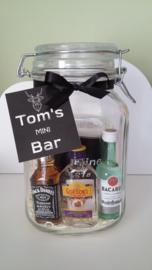 Mini Bar in jar!