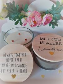 Ontdek onze gepersonaliseerde kaarsen!