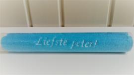 Gastendoekje 'Liefste peter'
