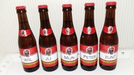 Set bierstickers Jupiler