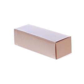 Schuifdoosje met transparant deksel - koper