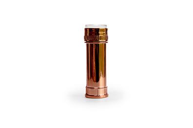 Bellenblazer rosé goud