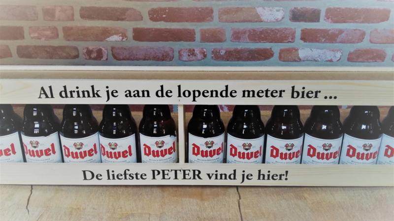 Houten Meter Bier Liefste Peter Mijn Liefste Meter