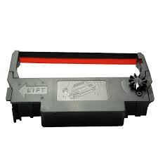 Lintcassette Epson ERC 30/34/38 rood/zwart