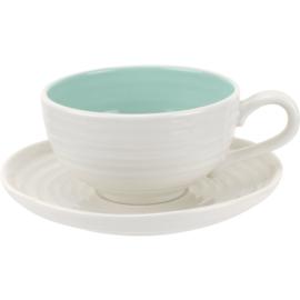 Kop & Schotel Celadon Colour Pop (0,20 l.) - Sophie Conran for Portmeirion