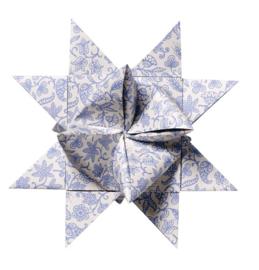 Decoratieve Ster Blauw - Bloomingville