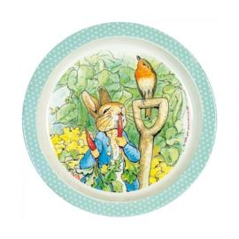 Bord Peter Rabbit Green (21,5 cm.) - Petit Jour Paris
