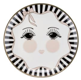 Bord Bow & Eyes (17,8 cm.) - Miss Étoile