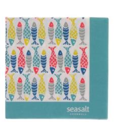 Papieren Servetten Seasalt Schooling Fish - Ulster Weavers