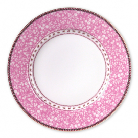 Dinerbord Lovely Branches Pink (27 cm.) - Pip Studio Early Bird