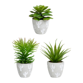 Kunstplant in Pot (14 cm.) - Sema Design