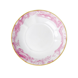 Pastabord Marble Bubblegum Pink (20,5 cm.) - Rice