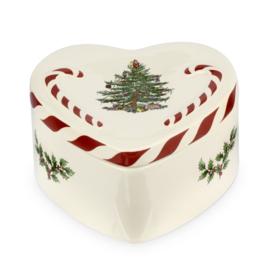 Dekselbakje (13,5 cm.) - Spode Christmas Tree