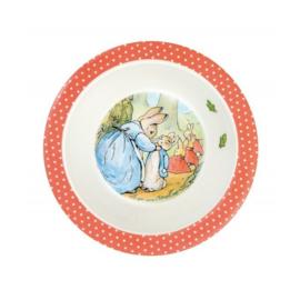 Schaaltje Peter Rabbit Rouge (16,5 cm.) - Petit Jour Paris