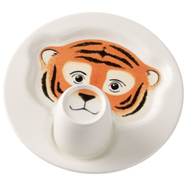 2-delige Kinderset Tijger - Villeroy & Boch Animal Friends