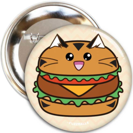 Broche 'Burger Tiger' - Fuzzballs