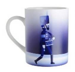 Mok Blue Christmas Soldier - Alessi