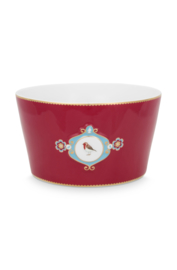 Schaal Medallion Red (20 cm.) - Pip Studio Love Birds