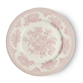 Dinerbord Pink Asiatic Pheasants (25,5 cm.) - Burleigh