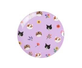 Bord Melamine Cats (16 cm.) - Ginger