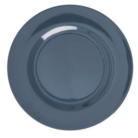 Melamine Dinerbord Dark Grey - Rice