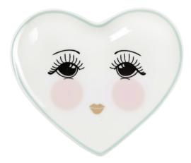 Hartvormig Bordje Eyes (11,5 cm.) - Miss Étoile