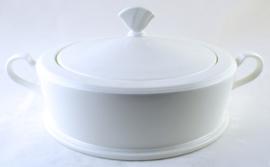 Dekschaal (22,5 cm.) - Noritake White View