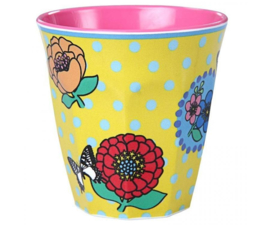 Beker Melamine Vintage Flowers (200 ml.) - Ginger
