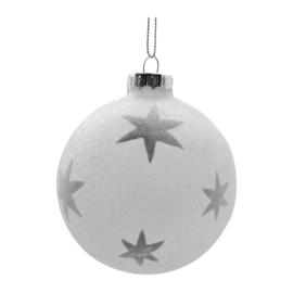 Kerstbal Star Adilau (8 cm.) - Côté Table