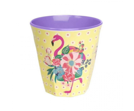 Beker Melamine Pink Flamingos (125 ml.) - Ginger