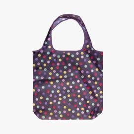 Opvouwbare Tas Polka Dots Purple - Emma Bridgewater