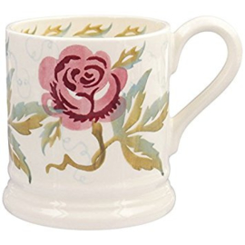 1/2 Pt Mug Sponge Rose - Emma Bridgewater