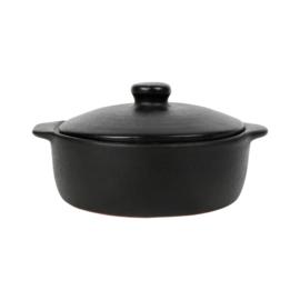 Ovenschaal met Deksel Denvi Black (15 cm.) - Côté Table