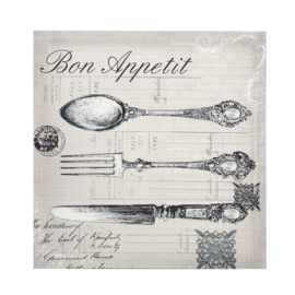Canvas Bon Appetit (40 cm.) - Sema Design