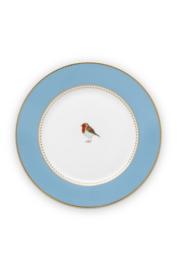 Gebaksbord Blue (17 cm.) - Pip Studio Love Birds