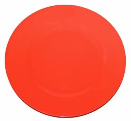 Melamine Dinerbord Neon Oranje - Rice